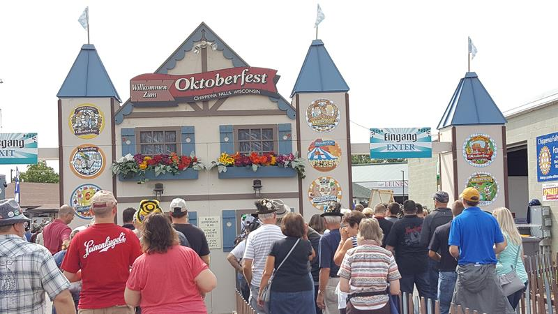 Wisconsin Weekend: Chippewa Falls Oktoberfest