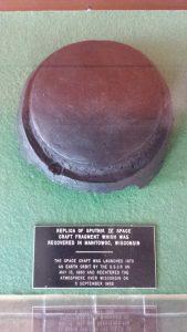 Sputinik replica at Rahr-West Art Museum, Manitowoc