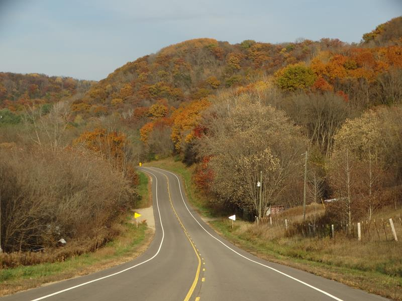 Fall State Trunk Tour Drives: Highway 131 through the Driftless