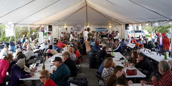 Cedarburg Oktoberfest tent