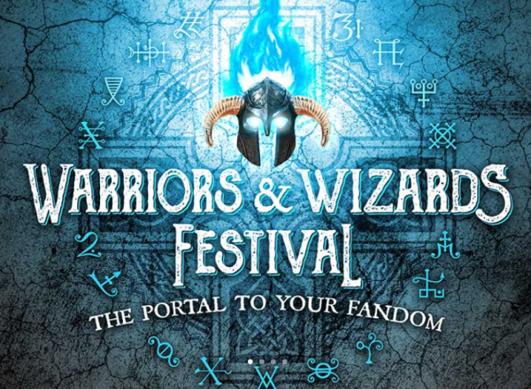 Warriors and Wizards Festival logo