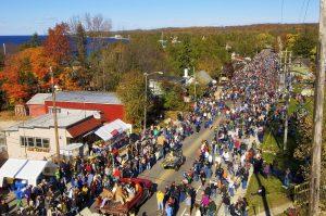 Sister Bay Fall Fest, Wisconsin Weekend