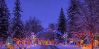 Christmas Village at Irvine Park, Chippewa Falls