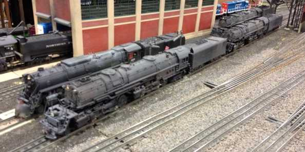 Trainfest at State Fair Park in West Allis