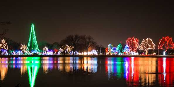 Oshkosh Celebration of Lights, Holiday Lights Wisconsin