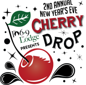 Door County Cherry Drop poster. NYE 2018-2019
