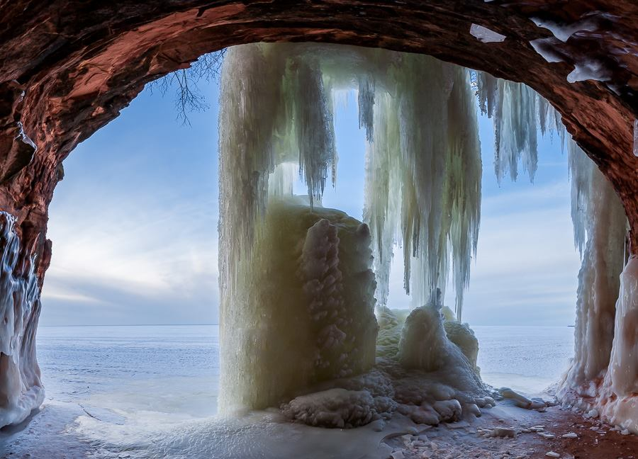 Ice Caves in Bayfield County