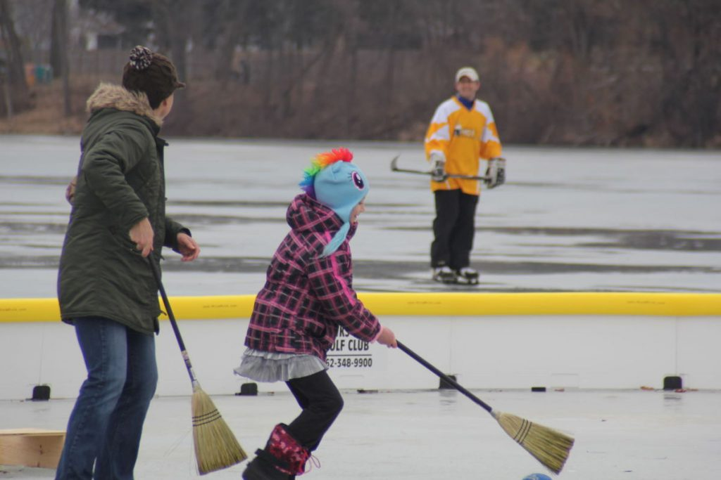 Pond Hockey at Hot Chocolate Fest, Burlington