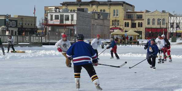Pond Hockey at Oconomowoc's Chili Fest