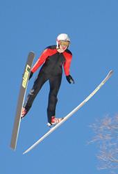 Westby Snowflake Ski Jump