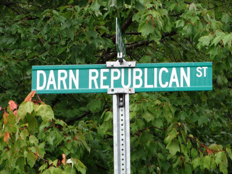 Quirky Street Names: Darn Republican Street in Chetek