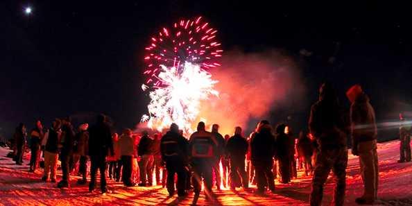 Fond du Lac Sturgeon Spectacular fireworks