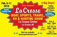 La Crosse Area Boat, Sports, Travel, RV & Hunting Show logo