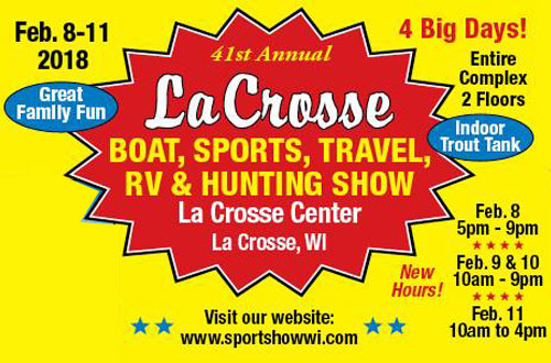 La Crosse Area Boat, Sports, Travel, RV & Hunting Show logo