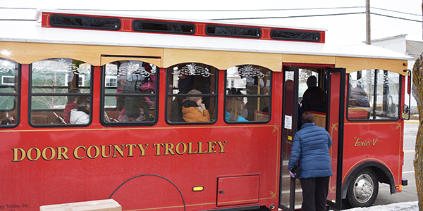 Sturgeon Bay Trolley for Fire & Ice