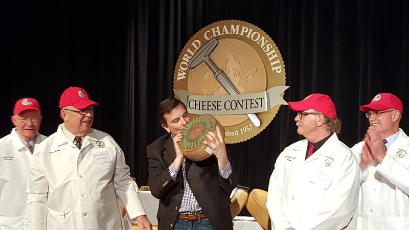 World Championship Cheese Contest in Madison, 2016 winner
