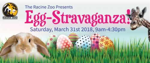 Egg-stravaganza at Racine Zoo