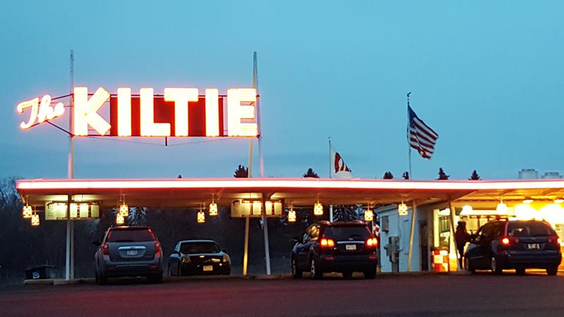 The Kiltie, one of our classic Wisconsin drive-ins