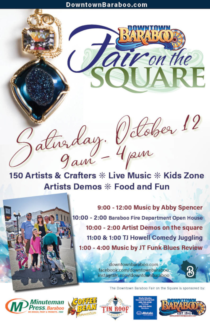 Downtown Baraboo Fair on the Square 2019