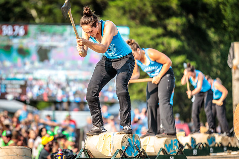 Lumberjack World Championships, Hayward