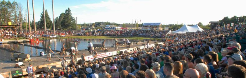 Lumberjack World Championships in Hayward