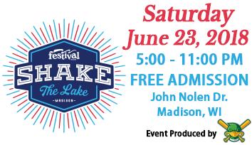 Madison Shake the Lake poster
