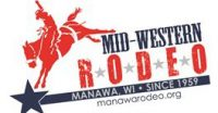 Manawa Midwestern Rodeo logo