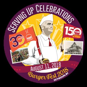 Wisconsin Weekend: Seymour Burgerfest 2018 logo