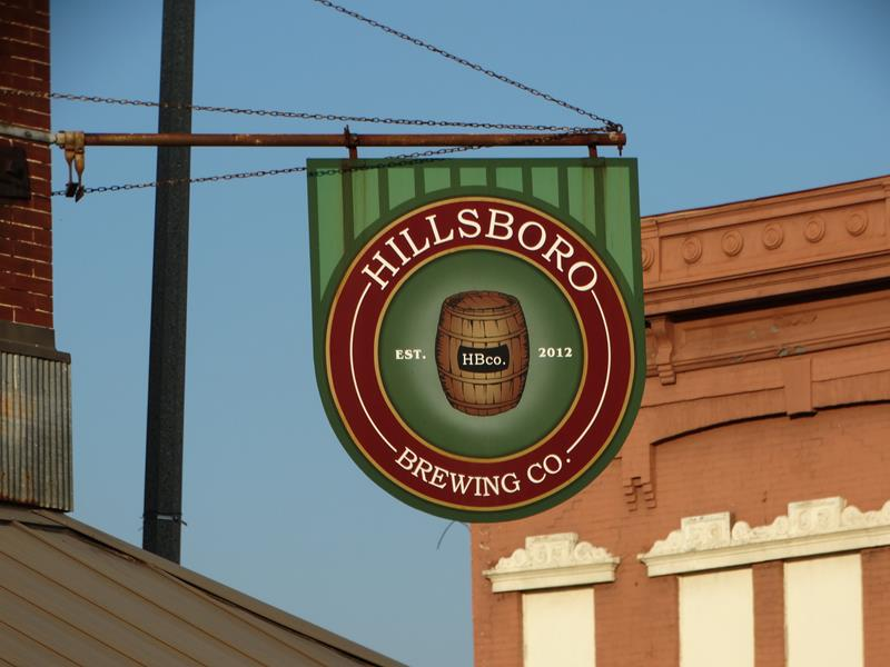Hillsboro Brewing sign
