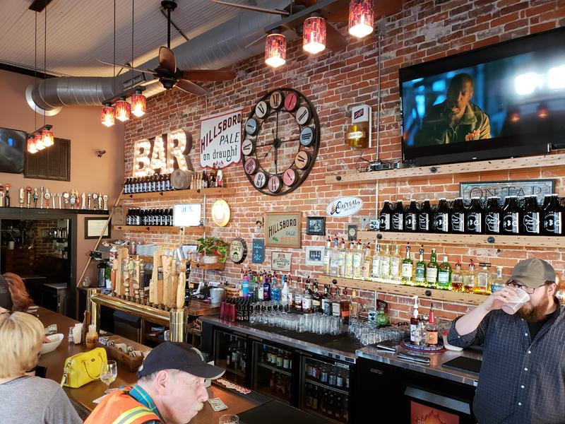 Hillsboro Brewing Company Tap Room, for now
