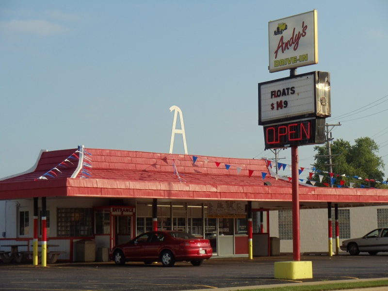 Wisconsin Drive-Ins: Andy's in Kenosha