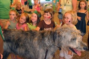 Irishfest La Crosse Wee Kids tent