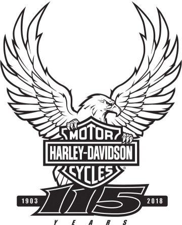 Harley 115th Milwaukee Rally logo