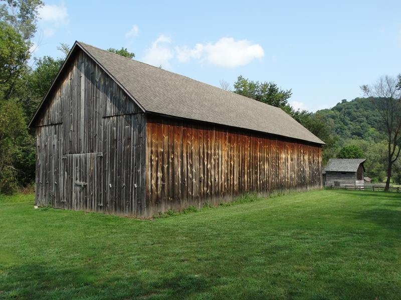 Tobacco barn at Norskedalen