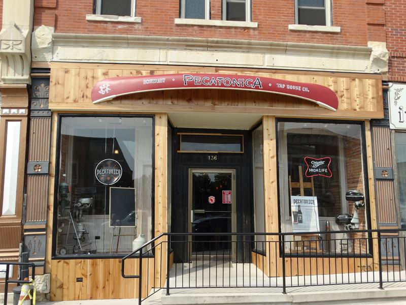 Pecatonica Beer Tap Room entrance
