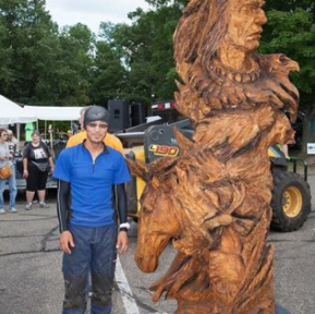 Lake Superior Chainsaw Scupture Championships