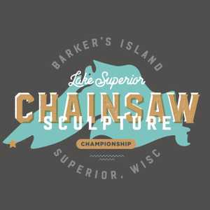 Lake Superior Chainsaw Carving Championship Logo