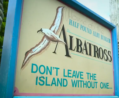 Wisconsin Drive-Ins: Albatross on Washington Island