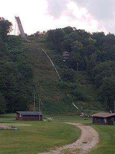 Snowflake Ski Jump vertical