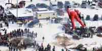 Snowflake Ski Jump Tournament