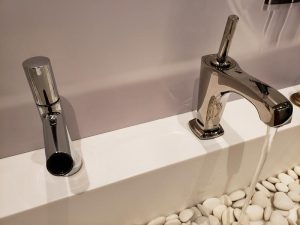 Faucets at the Kohler Design Center