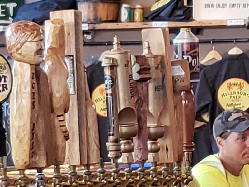 HIllsboro Brewing tap handles