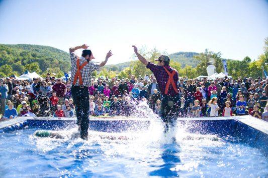Wisconsin Weekend: Lumberjack Fall Fest in Marshfield