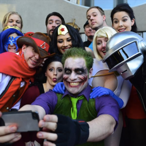 Wizard World Comic Con selfie