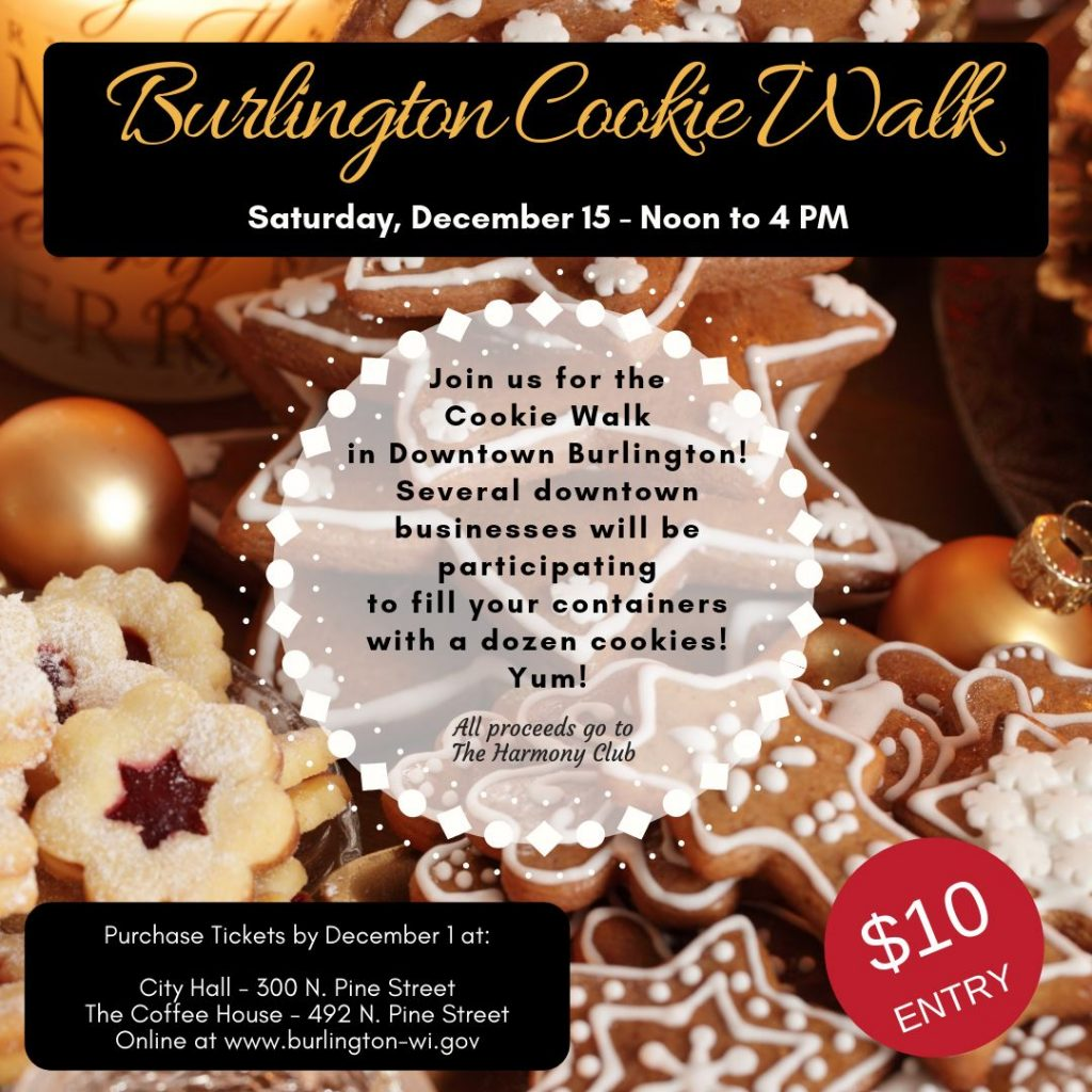 Burlington Cookie Walk with Burlington Ice Festival