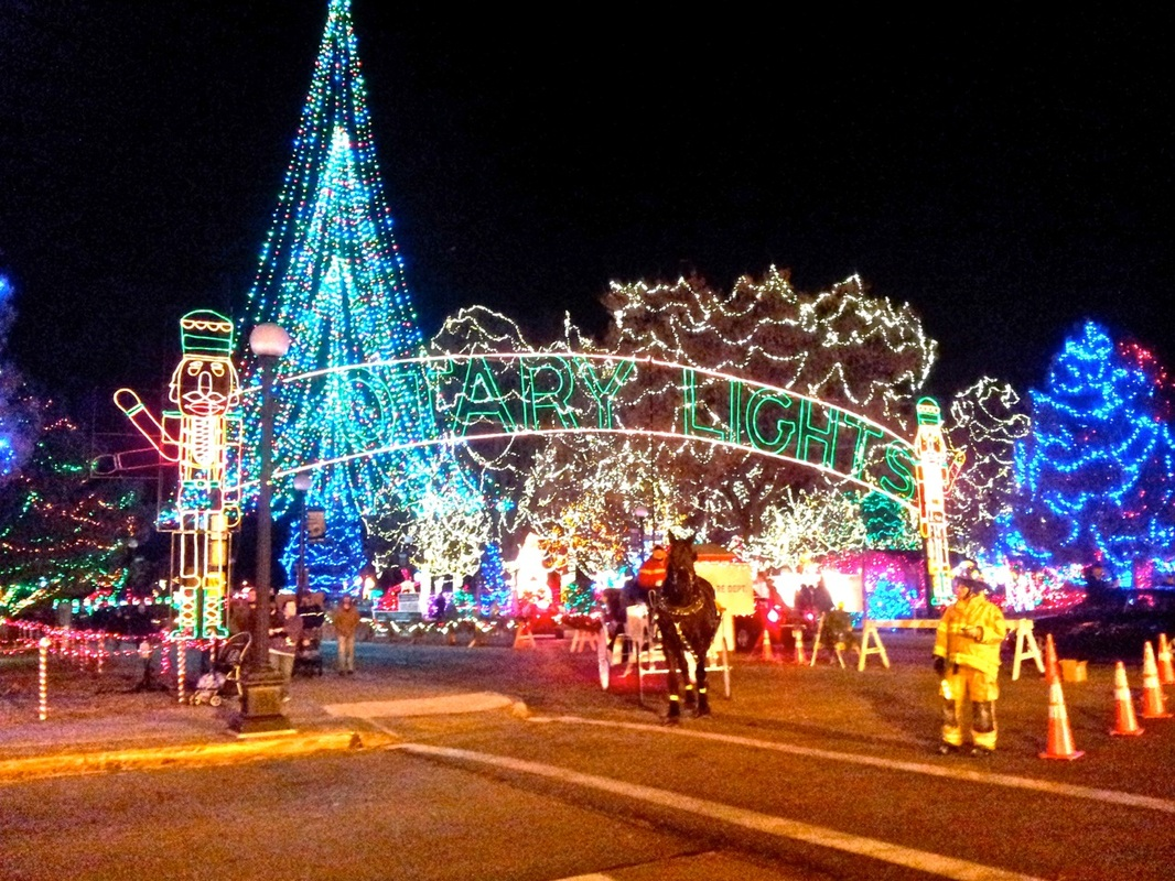 La Crosse Rotary Lights entrance