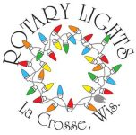La Crosse Rotary Lights logo