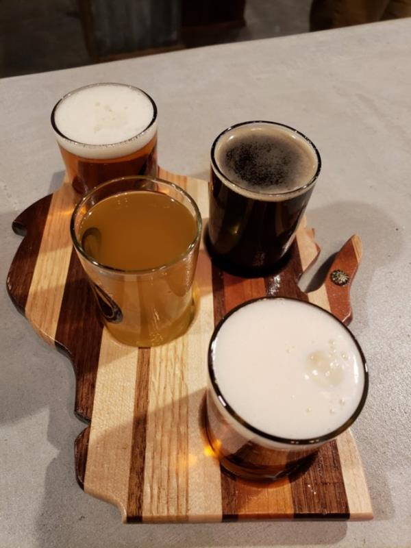Thumb Knuckle Brewing sampler