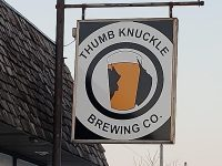 Thumb Knuckle Brewing sign