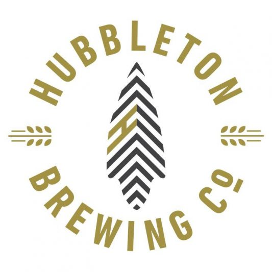 Hubbleton Brewing Company sign